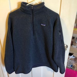 Patagonia Navy Quarter ZIP